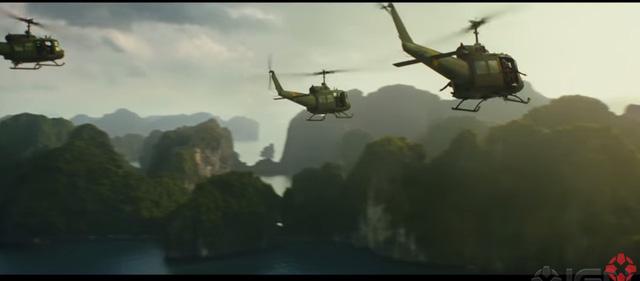 Núi non hùng vĩ nước ta trong trailer 'Kong: Skull Island'