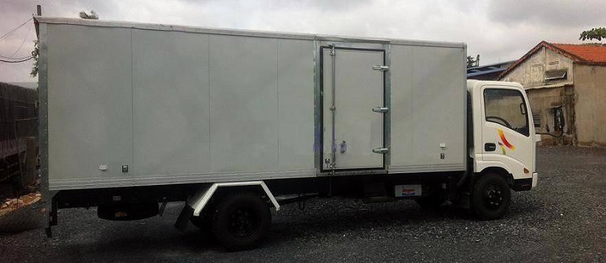 Xe ô tô tải Veam VT260 tải trọng 2T thùng dài 6m1