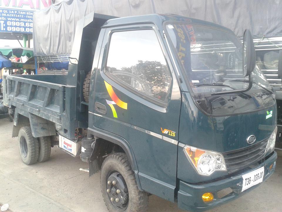 Xe ben Veam VB125 tải trọng 1,25 tấn