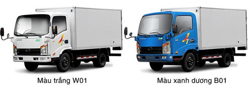 Xe ô tô ben Veam VT201 trọng tải 2 tấn