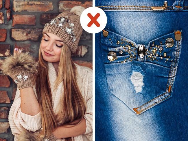 Những lỗi thời trang sẽ làm cho bạn trông kém hấp dẫn
