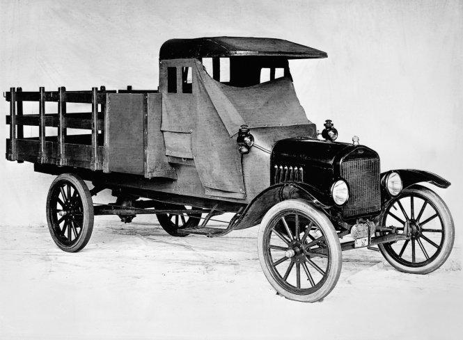 100 năm qua Ford làm thay đổi trái đất xe tải ra sao?