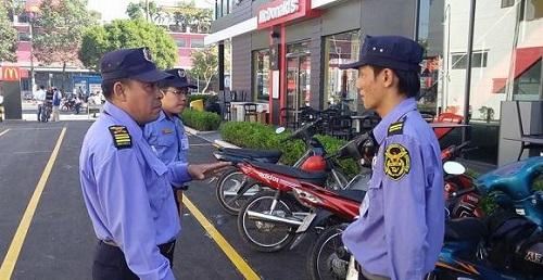 Tiến trình đảm bảo và nhiệm vụ triển khai khi bảo vệ nhà hàng của lực lượng đảm bảo