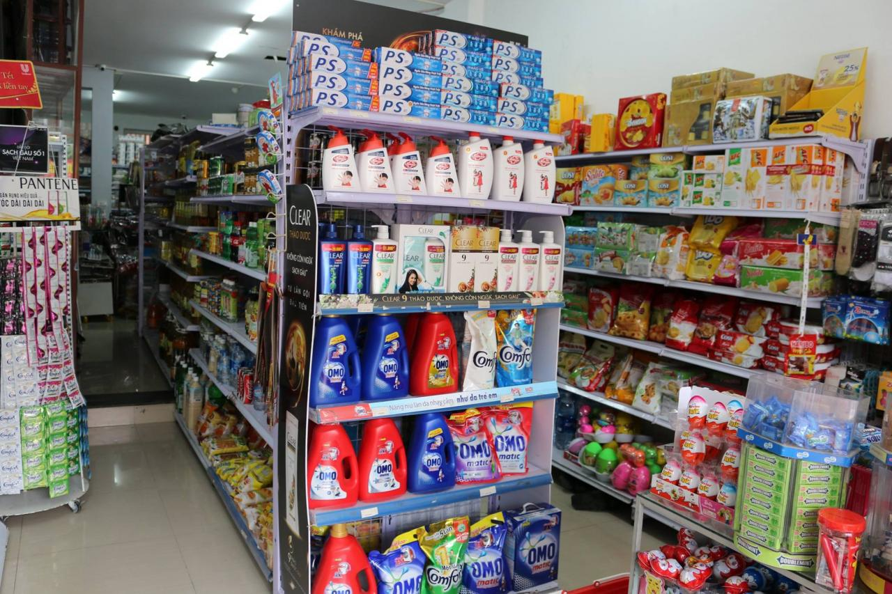 Hỗ trợ tư vấn chọn lựa giá kệ siêu thị khi mở cửa hàng