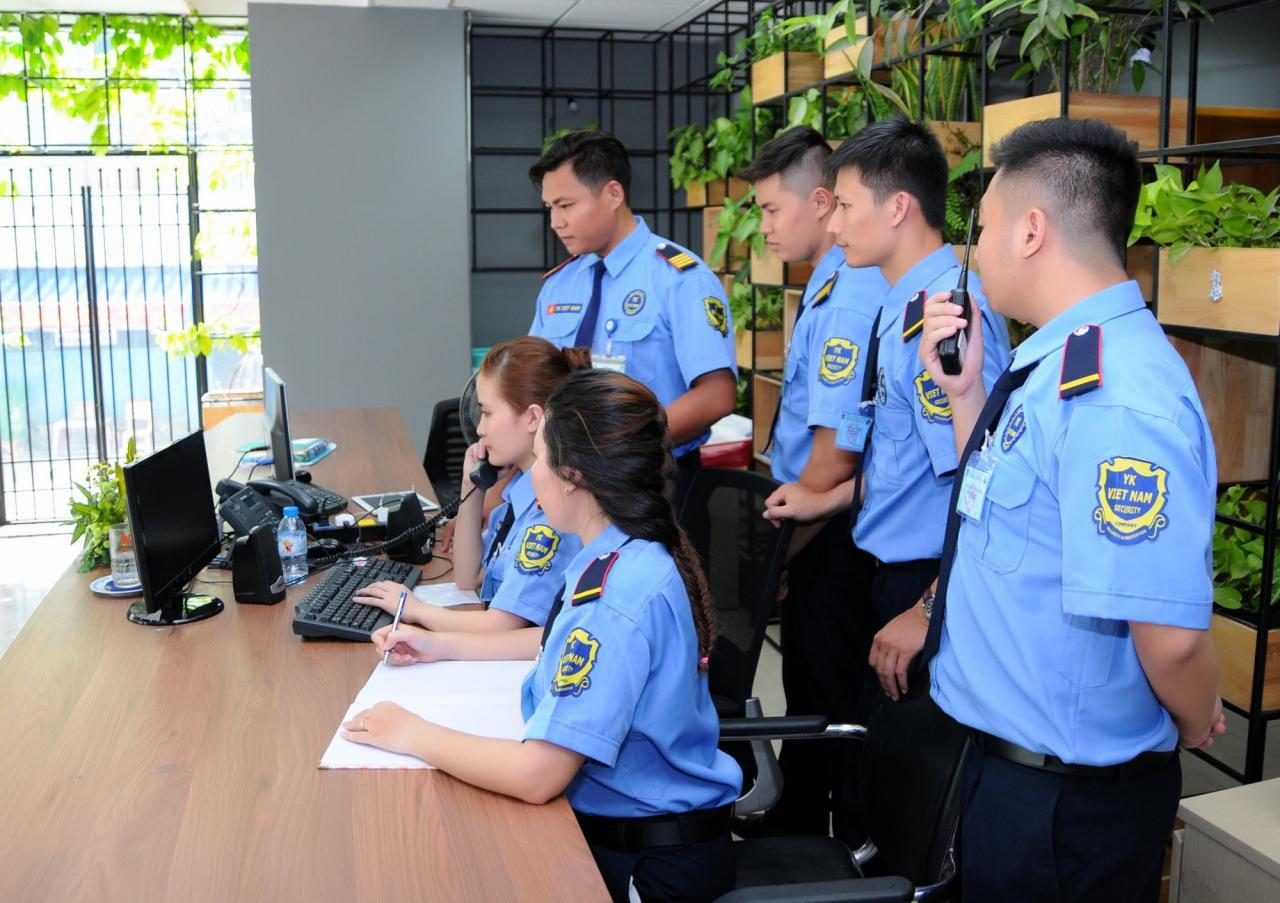 Đối với nhân viên bảo vệ mới thì cần phải giữ các mẫu giấy tờ gì?
