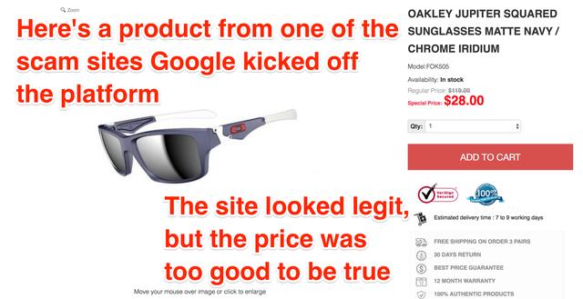 Bị lừa mua hàng tại Việt Nam, Google mở cuộc điều tra lớn vào các cửa hàng online
