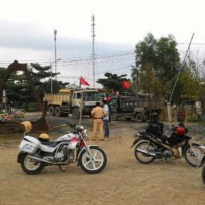 Cơ quan công an vào cuộc vụ hộ dân tự ý rào đường giao thông
