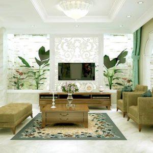 Không gian nhà đẹp với nội thất đồ gỗ sang trọng