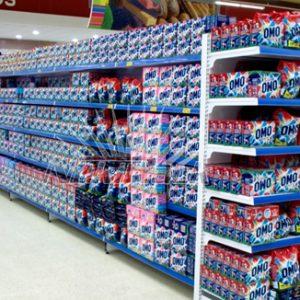 Một số loại giá kệ siêu thị trưng bày hàng hóa phổ biến