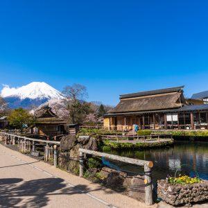 Nhật Bản vào mùa hè đẹp tuyệt với quanh cảnh quanh núi Phú Sĩ