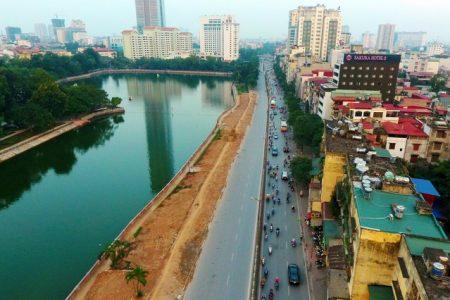 Ngăn chặn một chiều đường Kim Mã thi công Metro