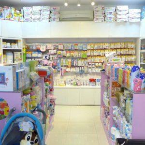 Lựa chọn giá kệ đối với cửa hàng mẹ và bé