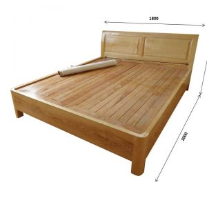 Nên chọn giường gỗ xoan đào hoặc gỗ sồi Nga?