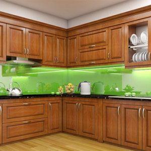 Nên lựa chọn tủ bếp gỗ loại nào là tốt nhất?