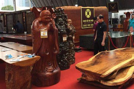 Thị trường nội thất gỗ: Hàng thật hàng giả lẫn lộn