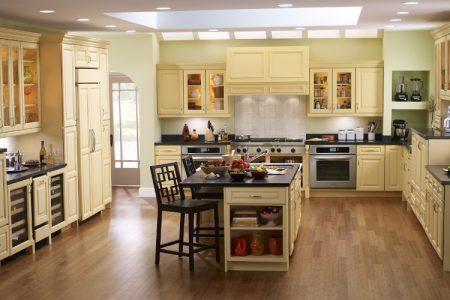 Các vấn đề rất cần phải lưu ý khi lựa chọn sàn gỗ đối với nhà bếp