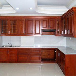 Các yêu cầu cơ bản lúc chọn tủ bếp gỗ dành cho phòng bếp