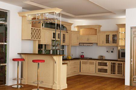Bí quyết lựa chọn sàn gỗ công nghiệp phù hợp với không gian phòng bếp