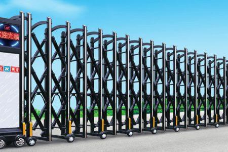 Khám phá kết cấu cùng nguyên lý hoạt động đối với cổng xếp inox tự động