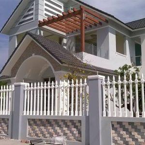 Bí quyết xây dựng hàng rào đẹp làm ngôi nhà thêm sang trọng