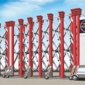 Một vài kiến thức đối với cổng xếp inox tự động, cổng xếp điện