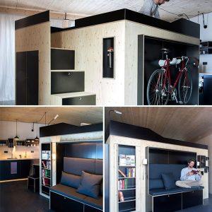 Những ngôi nhà siêu nhỏ, xinh đẹp nhìn mê liền nhờ kiến thiết thông minh