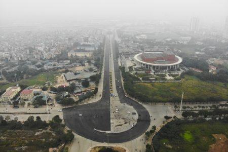 Tháo hàng rào chắn đường đua F1, đường Lê Quang Đạo thông thoáng