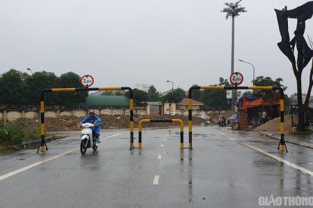 Nghệ An: Doanh nghiệp tự ý đặt barrier hạn chế phương tiện ra vào