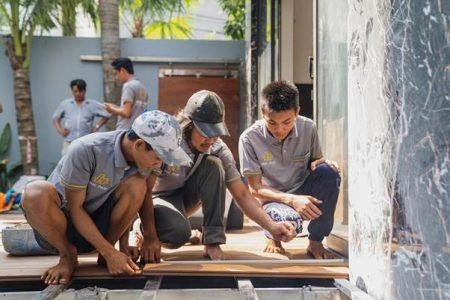 Kinh nghiệm xây dựng sàn gỗ ngoài trời