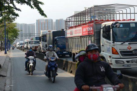 Barie mở rộng đường Đồng Văn Cống thêm 2 làn