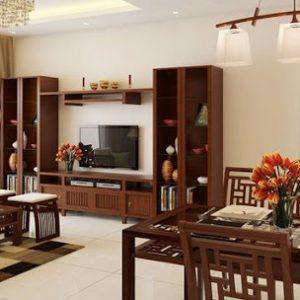 Nội thất đồ gỗ tự nhiên siêu đẹp, chất ngất, hiện đại