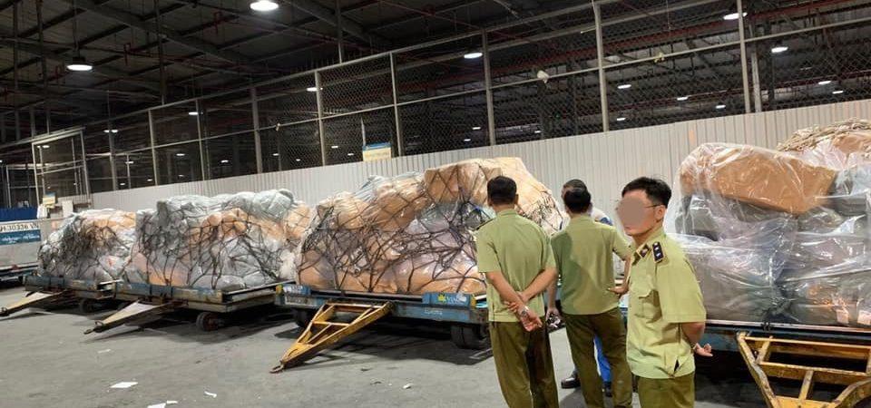 Xuất hiện 4 tấn hàng lậu được vận chuyển bằng máy bay