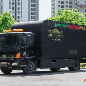 Nội thất xe vận chuyển xế khủng cho giới đại gia Hà Nội