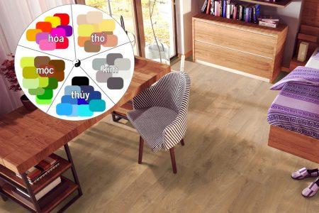 4 cách chọn lựa sắc màu sàn gỗ bắt buộc phải biết