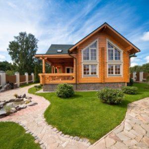 Chiêm ngưỡng căn biệt thự nhà vườn bằng gỗ cực xinh