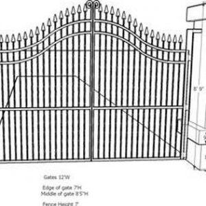 Kích cỡ cổng nhà đúng phong thủy