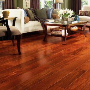 Để ý lúc lựa chọn mẫu sàn gỗ công nghiệp đẹp đối với phòng khách