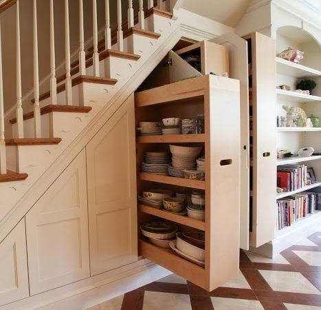Thiết kế cầu thang đa chức năng