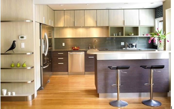 Kinh nghiệm chọn lựa tủ bếp đẹp và phù hợp phong thủy