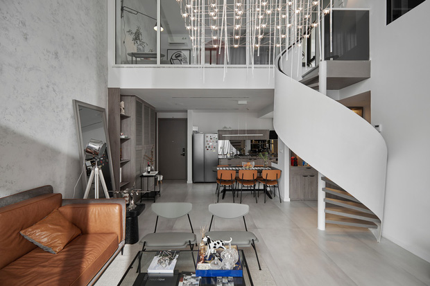Chiêm ngưỡng căn hộ duplex sang xịn mịn ở Quận 7 của nhà kiến thiết nội thất với hơn 10 năm kinh nghiệm