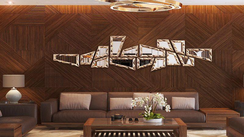 """4 ý tưởng trang trí tường nhà gỗ phong cách hiện đại """"cực chất"""""""