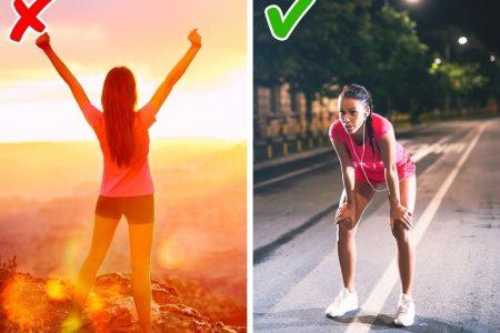 Một số sai lầm phổ biến khi tập thể dục nhiều người mắc phải