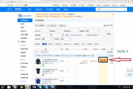 Cách thức gửi lệnh đề nghị thanh toán hộ Alipay