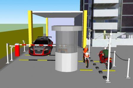 Những xem xét khi sử dụng hàng rào chắn barrier trong bãi xe