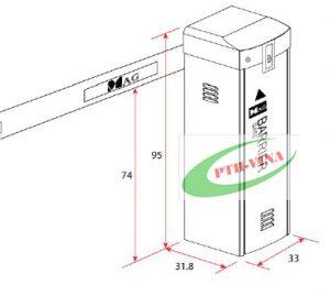 Bạn có biết cấu tạo barrier tự động Mag – Malaysia