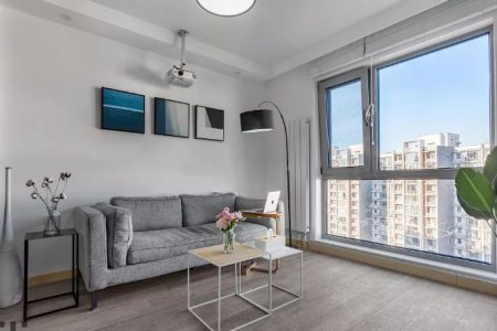 Căn hộ 35m² với cách bày trí nội thất đơn giản nhưng vô cùng hợp lý khi sinh hoạt
