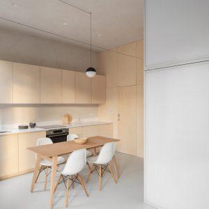Ngôi nhà nhỏ 29m2 nhờ phòng ngủ kiểu kén mà như rộng gấp đôi
